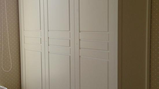 Детская Снежана шкаф бук (белая эмаль)