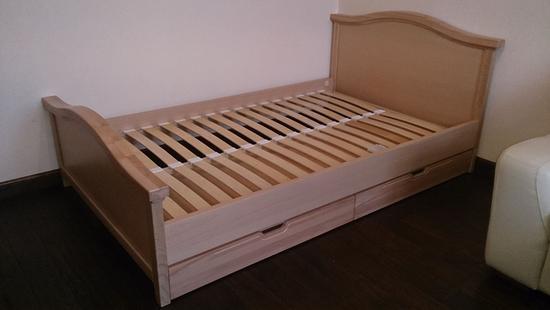Детская Снежана кровать бук (натуральный)