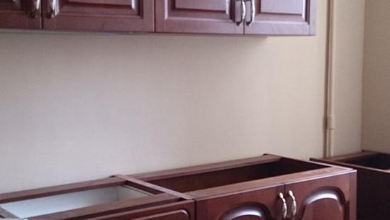 Кухня Утро-3 бук (коричневый)