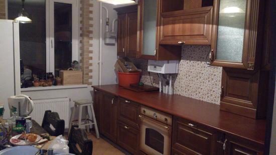 Кухня Элегия бук (вишня патина)