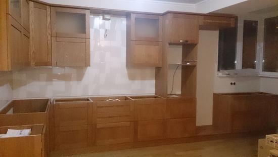 Кухня Вариант дуб (S-10)