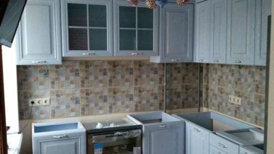 Кухня Элегия бук (белая эмаль)