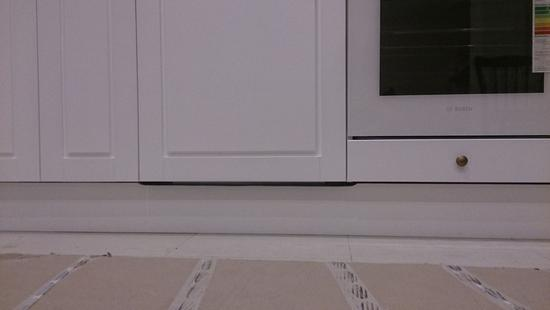 Кухня Адель бук (белая эмаль)