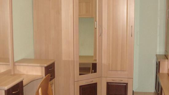 Спальня Селена шкаф сосна (светло-бежевый)