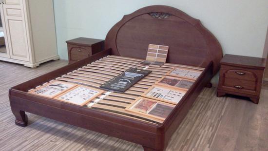 Спальня Лира кровать дуб (М-20)