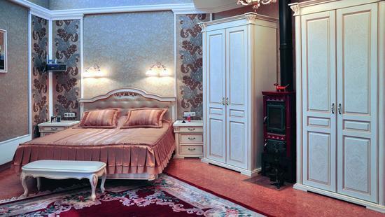 Спальня Элегия бук (слоновая кость, патина)