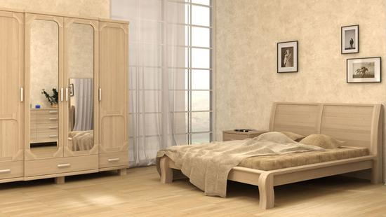 Спальня Селена-2 дуб (выбеленный)