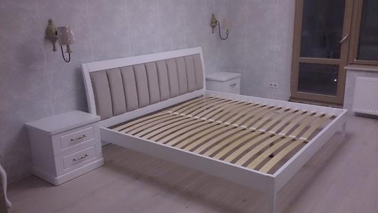 Спальня Каролина бук (белая эмаль)