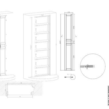 Шкаф встроенный Снежана